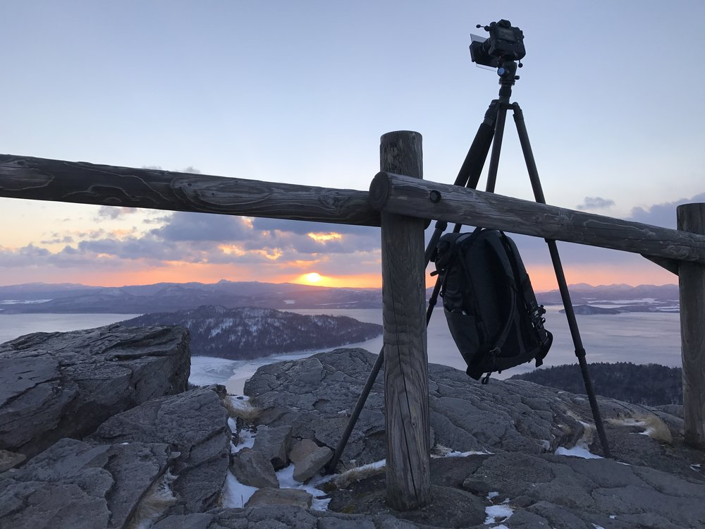 Take care of wind chill. I even had to stabilise my tripod with my backpack as the winds were above 50kph here.