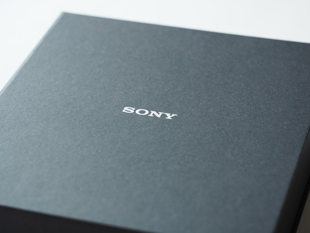 Sony's box for premium headphones