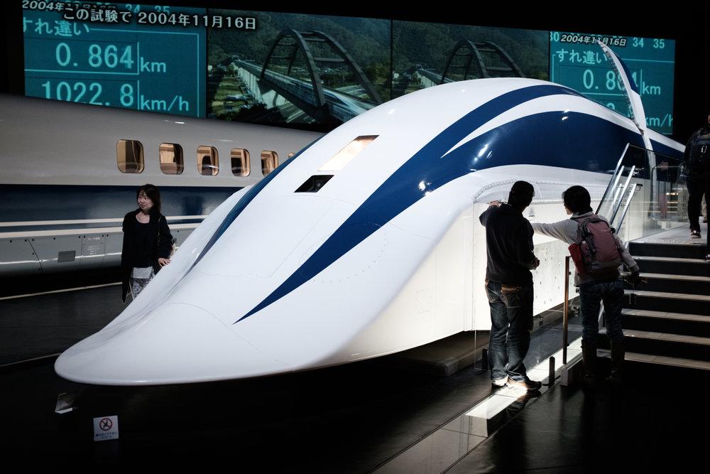 MLX-01 Maglev Train Prototype