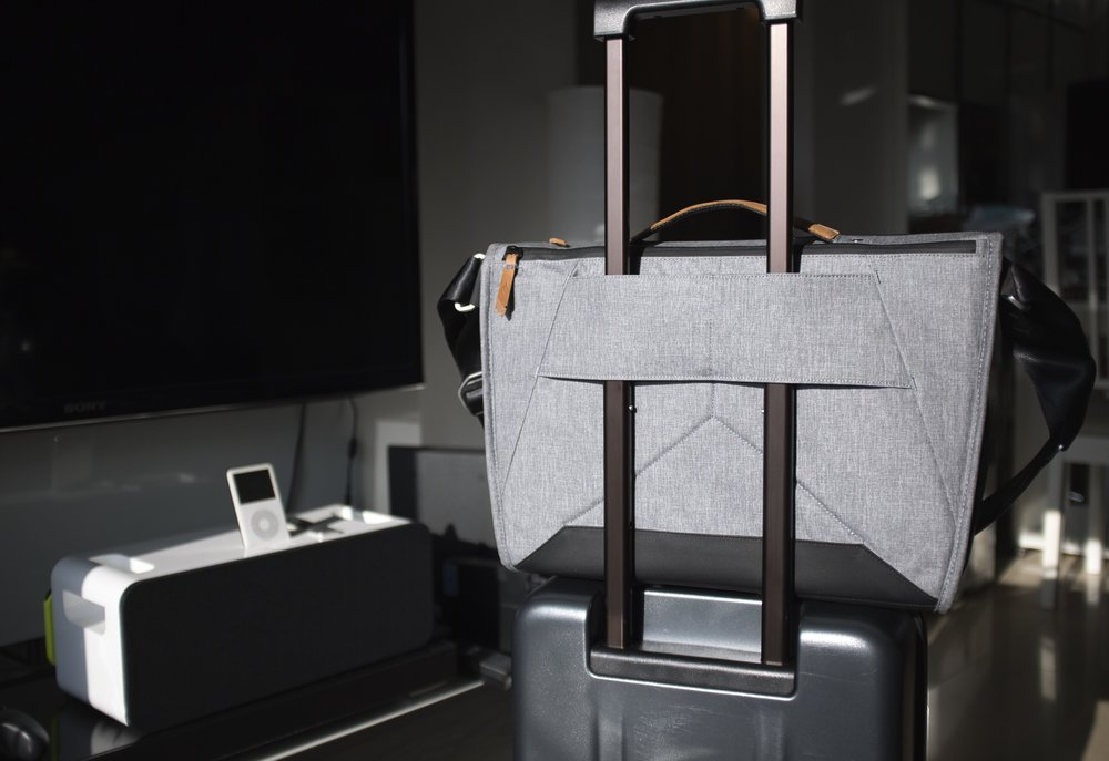 Luggage Passthrough is a lifesaver (or should I say backsaver) if you travel often
