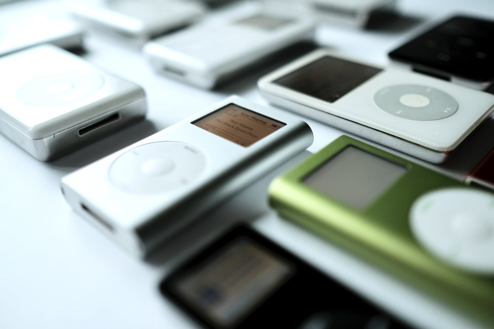 The iPod mini was my first iPod, and probably the breakthrough iPod.